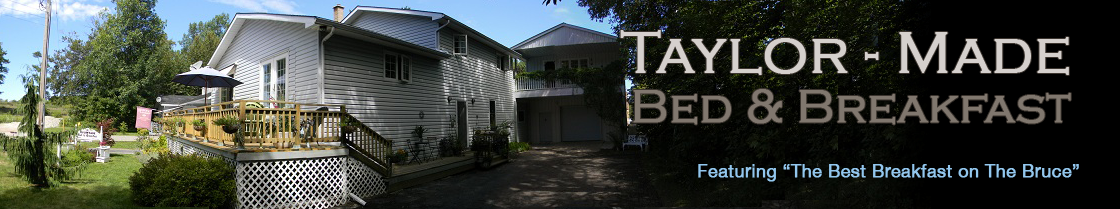 Taylor-Made Bed & Breakfast, Lion's Head Ontario