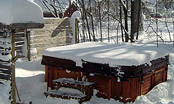 hottub winter
